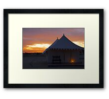 The Holly Cross!!!! Framed Print