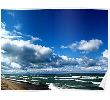 Lake Michigan # 1 Poster