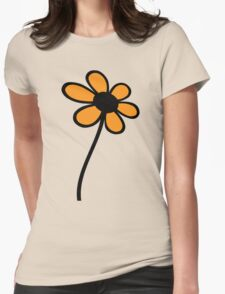 Big Orange Flower T-Shirt T-Shirt