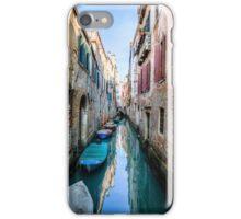 Narrow Canal in Venice iPhone Case/Skin