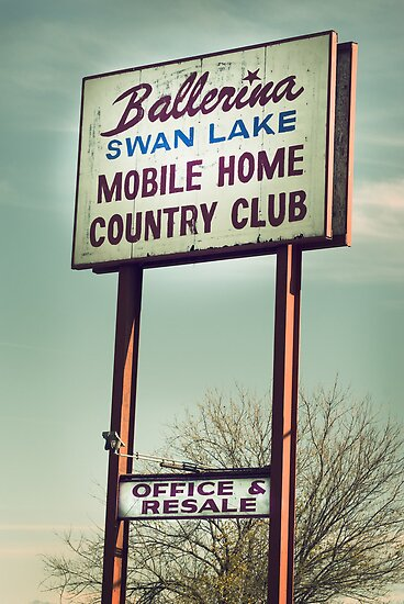 Ballerina Swan Lake Mobile Home Country Club by rockcampbell
