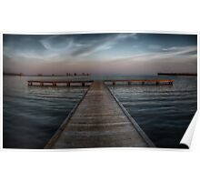 Pier at Millers Bay ~ HDR Reworked Poster