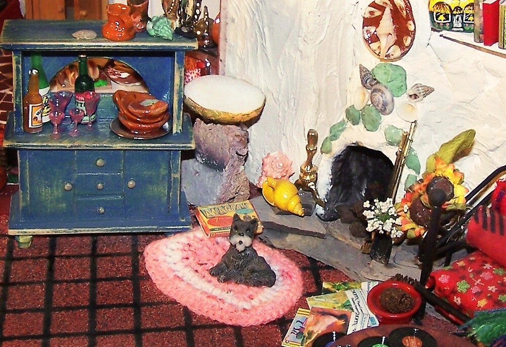 Hearth and Home (Scene from a Miniature) by Nadya Johnson