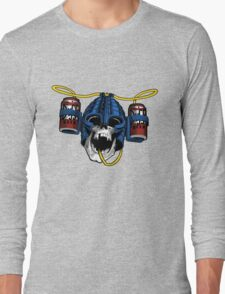 Beer-Helmet Long Sleeve T-Shirt