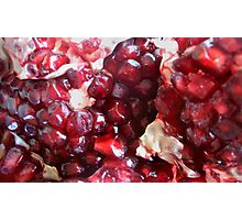 Passionate for Pomegranate Photographic Print
