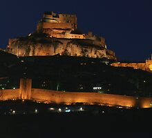 Morella castle, Castellon, Spain by Andrew Jones