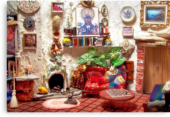 Mi Casa (Scene from a Miniature) by Nadya Johnson