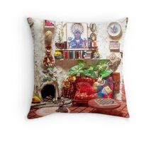 Mi Casa (Scene from a Miniature) Throw Pillow