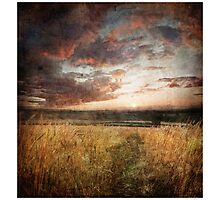 End of the Summer - Homer, nr Much Wenlock by rharris-images