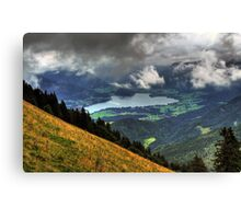 Wolfgangsee Canvas Print