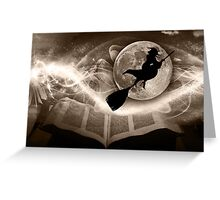 A Witch tale to remember... Greeting Card