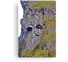 Troll of the Fjord Canvas Print