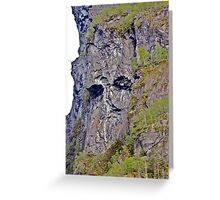 Troll of the Fjord Greeting Card