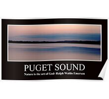 Puget Sound - AZ Hill Photography Poster