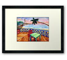 Jamaican Dreams Framed Print