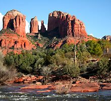 Cathedral Rocks in Sedona by Peggy Berger