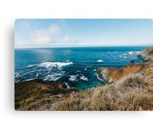 Big Sur, Pacific Coast in California Canvas Print