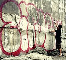 vandalism art by Mario Purisic