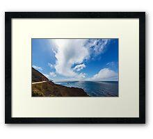 Big Sur, Pacific Coast Highway Framed Print