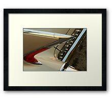 The art of the car: Cadillac 1960 El Dorado Biarritz Convertible Framed Print