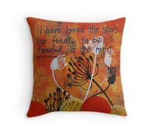 Love the night Throw Pillow