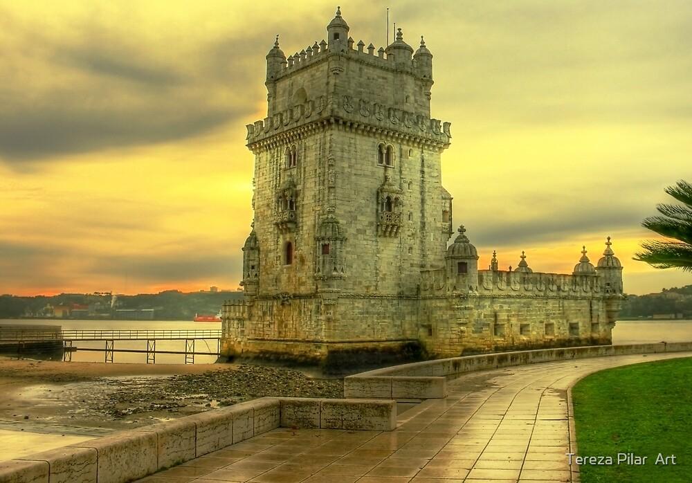 Torre de Belém.... by terezadelpilar~ art & architecture