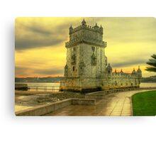Torre de Belém.... Canvas Print