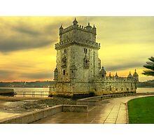 Torre de Belém.... Photographic Print