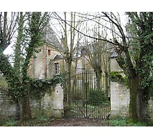 Chateau Near Reims, France Photographic Print