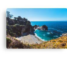 McWay Falls in California, Big Sur Canvas Print