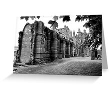 Melrose Abbey Greeting Card