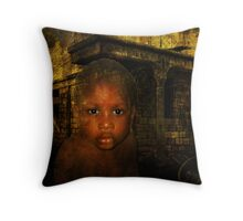 Who will read my poems? Throw Pillow