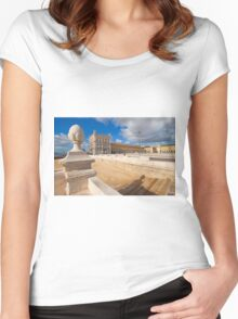 Terreiro do paço I Women's Fitted Scoop T-Shirt