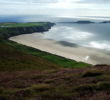 Rhossili Hill by Lucy Adams