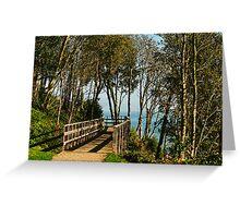 Morning Walk ~ Lyme Regis Greeting Card