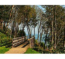Morning Walk ~ Lyme Regis Photographic Print