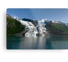 College Fiord Glacier Metal Print