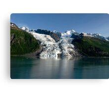 College Fiord Glacier Canvas Print