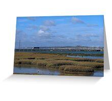 Langstone Harbour 02 Greeting Card