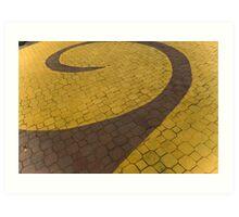 Beyond the Yellow Brick Road Art Print