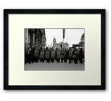 And All the Kings Men.... Framed Print