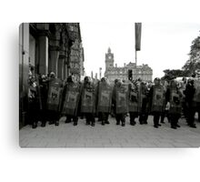 And All the Kings Men.... Canvas Print