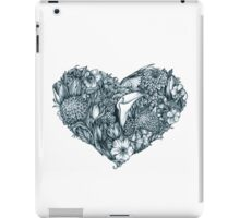 Gothic heart iPad Case/Skin