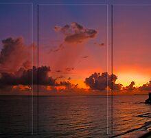 Puerto Rican Sunrise by Jarede Schmetterer