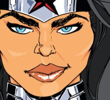 Wonder Woman: Ready For A Fight Sticker