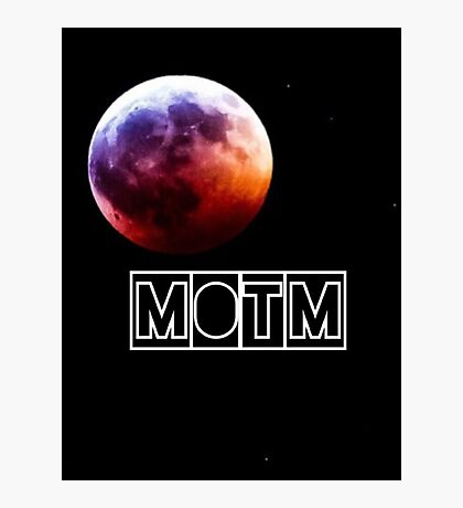 Man On The Moon Photographic Print