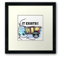 It Exists! Abomasnow Accessories and Decor to make you look COOL! Framed Print