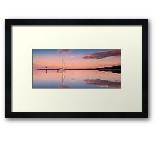 A Piece of Tranquility Shornecliffe Brisbane QLD Australia Framed Print