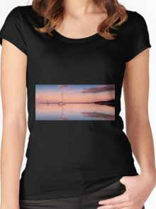 A Piece of Tranquility Shornecliffe Brisbane QLD Australia Women's Fitted Scoop T-Shirt