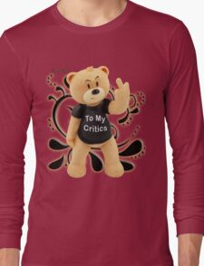 Rose Red - To My Critics Long Sleeve T-Shirt